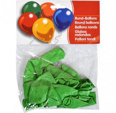 """Набор шариков Зеленые 10"""" (25см) 10шт/уп"""