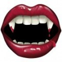 Баннер на дверь клыки вампира