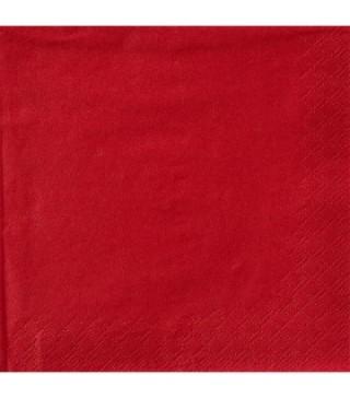 Серветки Червоні 25 шт.