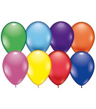 """Кульки металік 12"""" асорті 100шт/уп."""