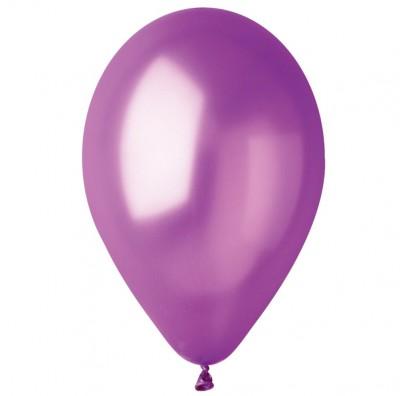 """Шарики металлик 12 """"фиолет 100 шт / уп."""