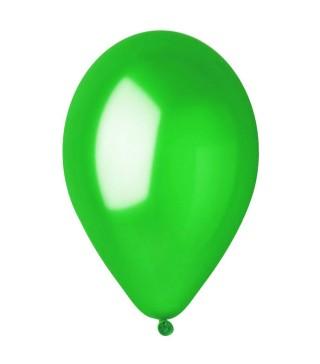 """Шарики зеленые 12"""" 100шт/уп"""