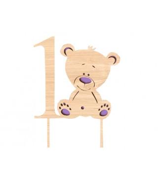 Топер 1 Ведмедик