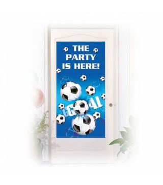 Банер на двері Футбол