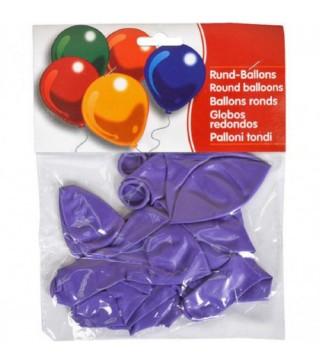 """Набір кульок Фіолетові 10"""" (25см) 10шт/уп"""