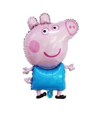 Шарик фигурный Свинка Пепа мини