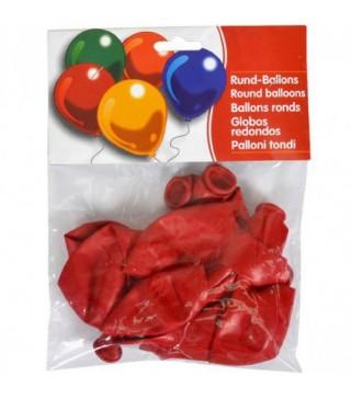 """Набір кульок Червоні 10"""" (25см) 10шт/уп"""