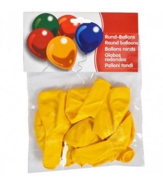 "Набір кульок Жовті 10"" (25см) 10шт/уп"
