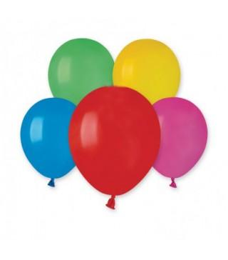 """Кульки асорті 5"""" (13см) пастель 100шт/уп"""