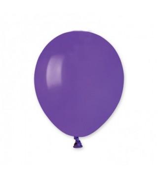 """Кульки 5"""" А50 фіолетові пастель"""