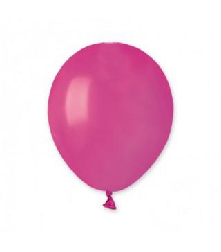 "Кульки фуксія 5"" (13см) пастель 100шт/уп"