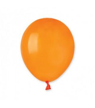 """Шарики оранжевые 5"""" (13см) пастель 100шт/уп"""