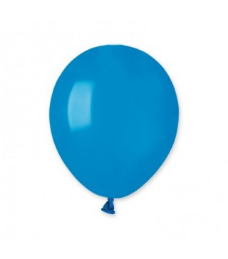 """Шарики синие 5"""" (13см) пастель 100шт/уп"""