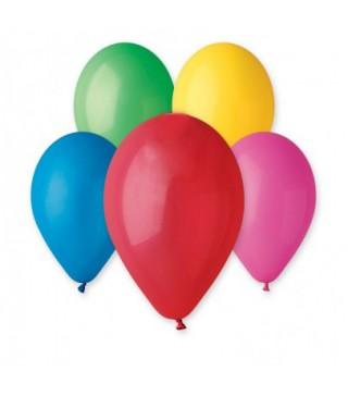 """Кульки асорті 12""""(30см) пастель 100шт/уп"""