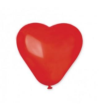 Шарики Сердечки красные