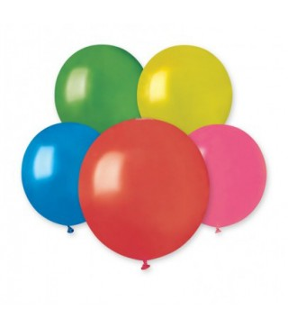 "Кульки 19"" асорті металік"