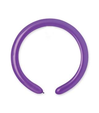 Воздушные шарики для моделирования D4 фиолетовые 100шт/уп