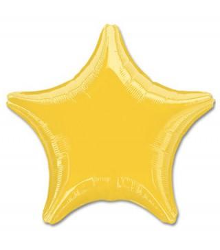 Кулька Зірка золота металік