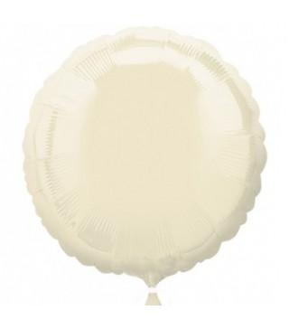 Кулька фольгована Кругла слонова кістка