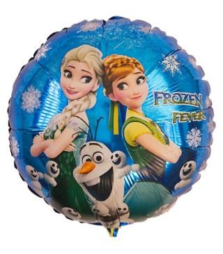 Кулька фольгована Крижане серце