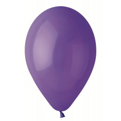 "Кульки фіолетові 12"" пастель (30см) 100шт/уп"