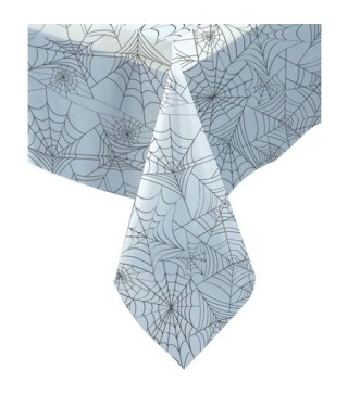 Скатертина Біла в павутину 137см/274см