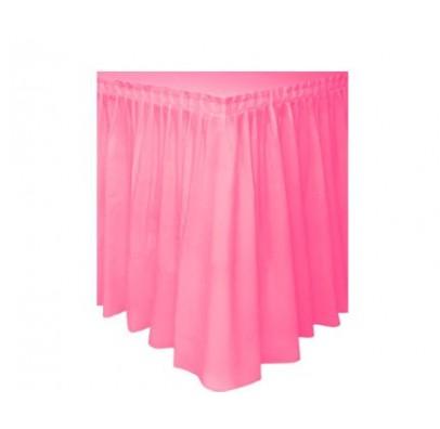 Декор для стола розовый