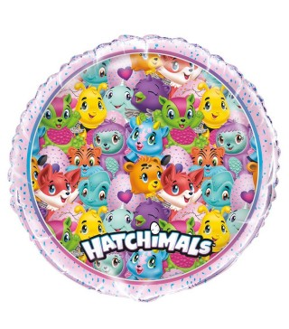 Шарик фольгированый HATCHIMALS 45см