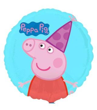 Шарики фольгированная Свинка Пепа