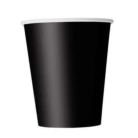 """Стаканчики """"Чорні """"8шт 03206 Unigue"""