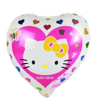 Кулька фігурна Серце Хелов Кітті