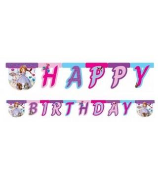 Гірлянда Happy Birthday Принцеса Софія