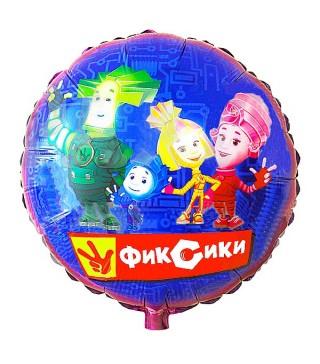 Кулька фольгована Фіксики