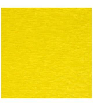 Креп-бумага желтая 50см*2,5м