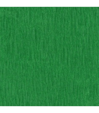 Креп-бумага зеленая 50см*2,5м