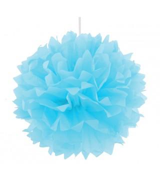 Помпон блакитний 40см