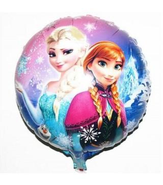 "Кульки фольг. з малюнк. ""Frozen""(3г) 2151046 Китай"