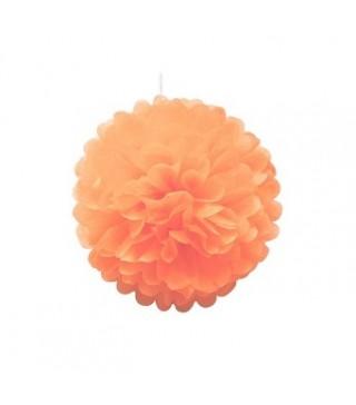 Помпон помаранчевий 25см