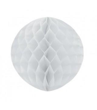 Паперова куля-соти біла 30см