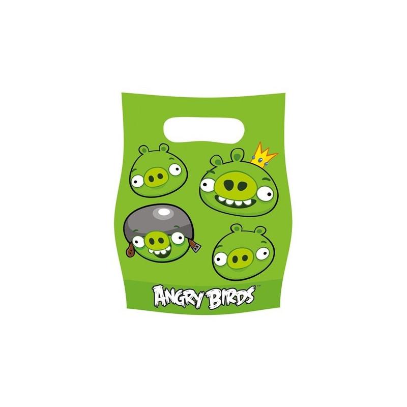 Подарочные пакетики Angry Birds 6шт/уп