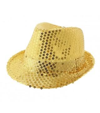 Шляпа Супер звезда золотая