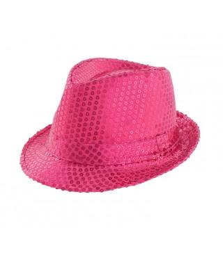 Шляпа Супер звезда малиновая