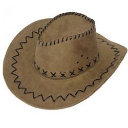 Шляпа Ковбойская коричневый
