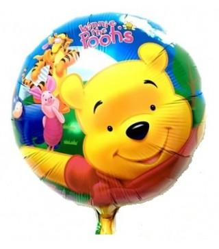 Шарик фольгированый Winnie Poohs
