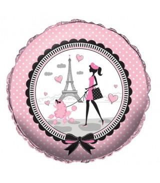 Шарик Париж пудель