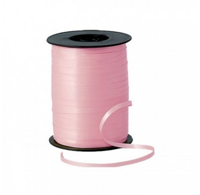 Лента для воздушных шариков розовая 1шт
