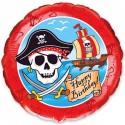 Шарик фольгированный Пираты
