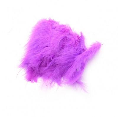 Піря декоративне фіолетове (5-8см) (12гр) 7003 Украина