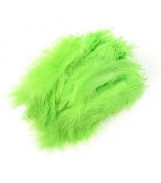 Піря декоративне світло-зелене (5-8см) (12гр) 7000 Украина