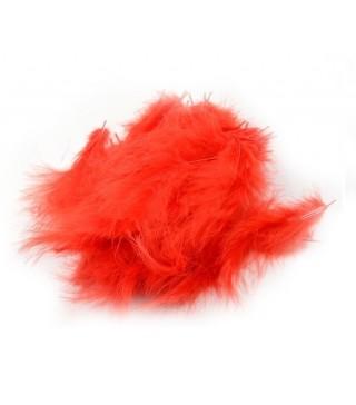 Піря декоративне червоне (5-8см) (12гр) 7001 Украина